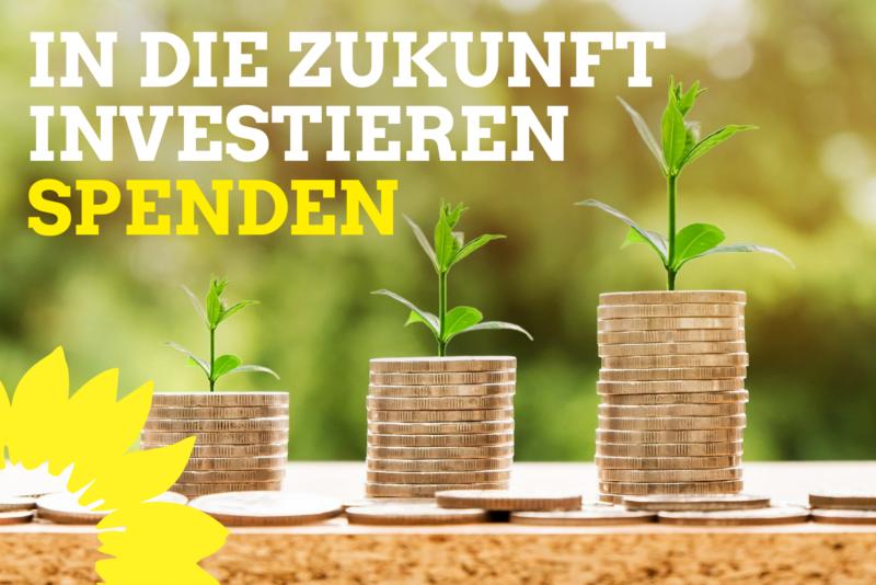 In die Zukunft investieren - Spenden